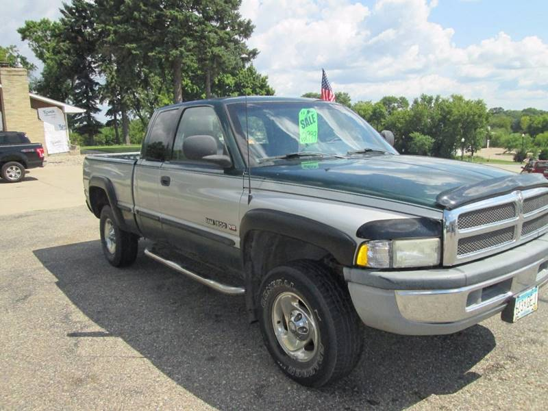 1998 Dodge Ram Pickup 1500 4dr ST 4WD Extended Cab SB - Hutchinson MN