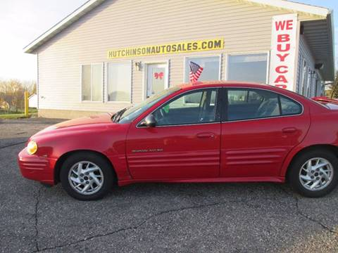 2002 Pontiac Grand Am for sale in Hutchinson, MN
