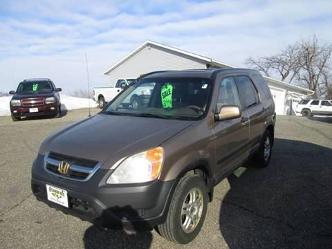 2003 Honda CR-V EX for sale at Hutchinson Auto Sales in Hutchinson MN