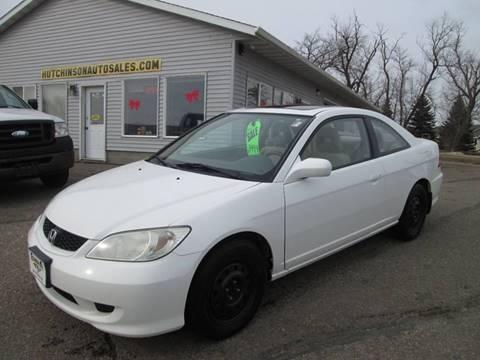 2004 Honda Civic EX for sale at Hutchinson Auto Sales in Hutchinson MN