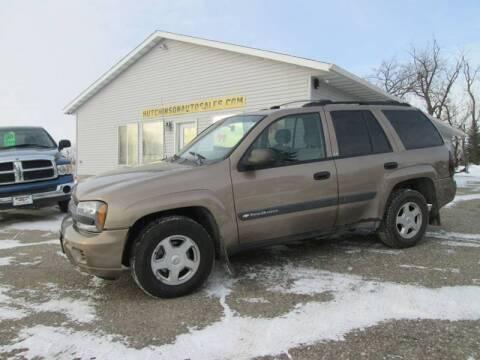 2003 Chevrolet TrailBlazer LS for sale at Hutchinson Auto Sales in Hutchinson MN