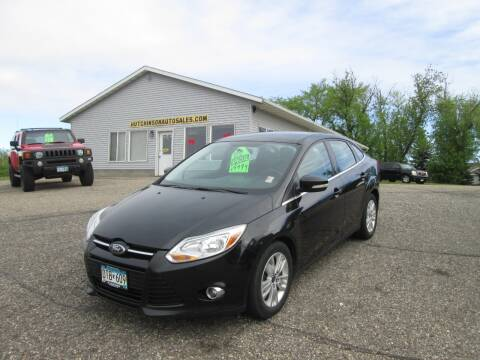 2012 Ford Focus SEL for sale at Hutchinson Auto Sales in Hutchinson MN