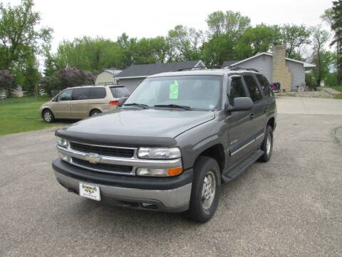 2001 Chevrolet Tahoe LS for sale at Hutchinson Auto Sales in Hutchinson MN