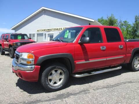 2004 GMC Sierra 1500 SLE for sale at Hutchinson Auto Sales in Hutchinson MN