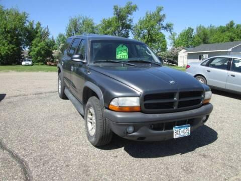 2003 Dodge Durango SXT for sale at Hutchinson Auto Sales in Hutchinson MN