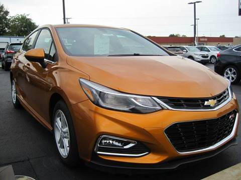 2017 Chevrolet Cruze for sale in Hillsboro, OH