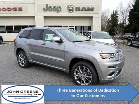 2019 Jeep Grand Cherokee for sale at John Greene Chrysler Dodge Jeep Ram in Morganton NC