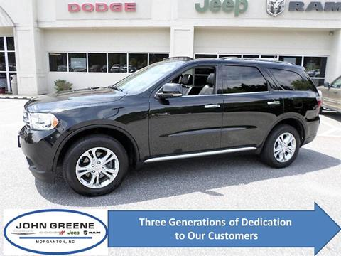 2013 Dodge Durango for sale at John Greene Chrysler Dodge Jeep Ram in Morganton NC