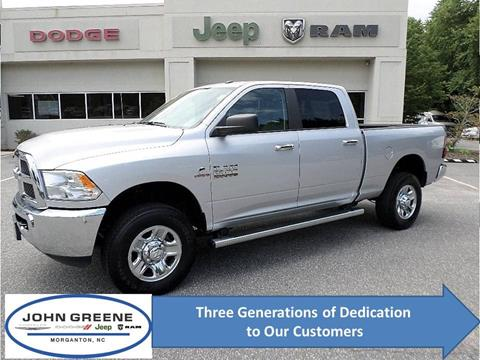 2018 RAM Ram Pickup 2500 for sale at John Greene Chrysler Dodge Jeep Ram in Morganton NC