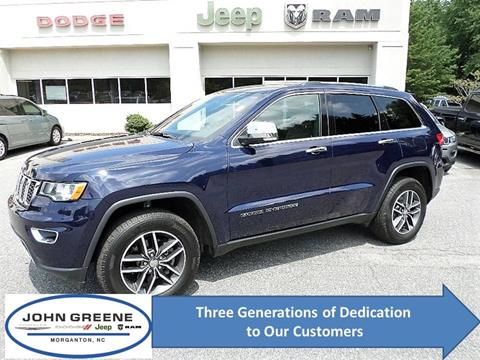 2018 Jeep Grand Cherokee for sale at John Greene Chrysler Dodge Jeep Ram in Morganton NC