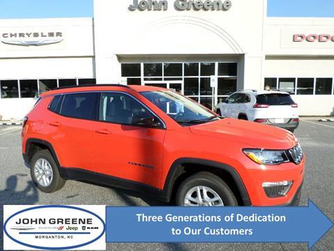 2020 Jeep Compass for sale at John Greene Chrysler Dodge Jeep Ram in Morganton NC