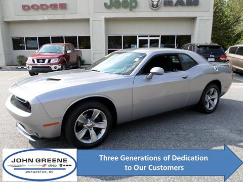 2016 Dodge Challenger for sale at John Greene Chrysler Dodge Jeep Ram in Morganton NC