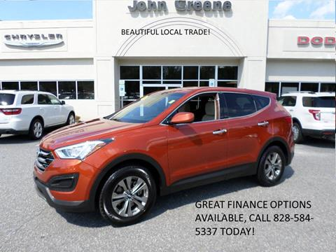 2016 Hyundai Santa Fe Sport for sale at John Greene Chrysler Dodge Jeep Ram in Morganton NC