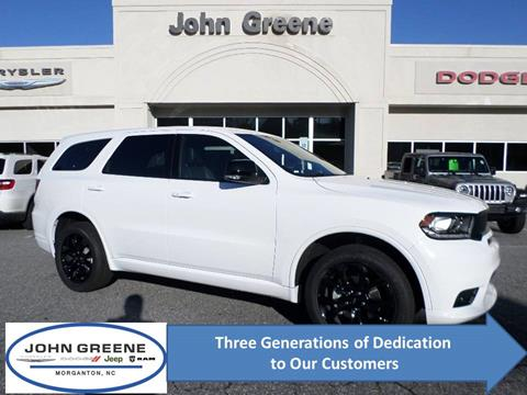 2020 Dodge Durango for sale at John Greene Chrysler Dodge Jeep Ram in Morganton NC