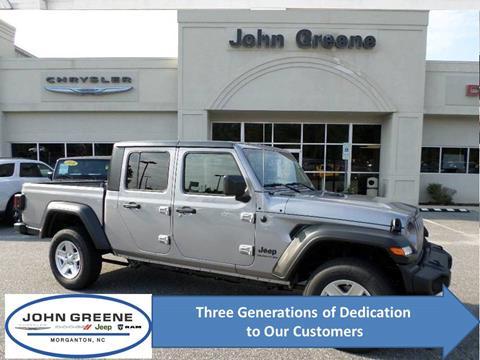 2020 Jeep Gladiator for sale at John Greene Chrysler Dodge Jeep Ram in Morganton NC