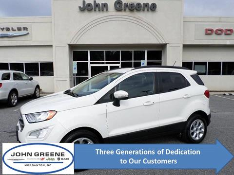 2018 Ford EcoSport for sale at John Greene Chrysler Dodge Jeep Ram in Morganton NC