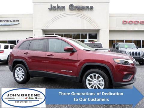 2020 Jeep Cherokee for sale at John Greene Chrysler Dodge Jeep Ram in Morganton NC