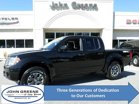 2018 Nissan Frontier for sale at John Greene Chrysler Dodge Jeep Ram in Morganton NC