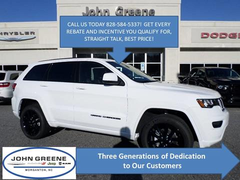 2020 Jeep Grand Cherokee for sale at John Greene Chrysler Dodge Jeep Ram in Morganton NC