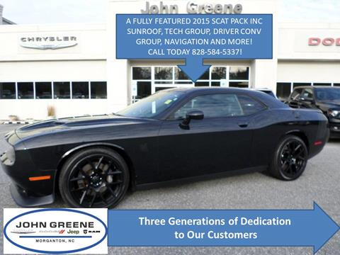 2015 Dodge Challenger for sale at John Greene Chrysler Dodge Jeep Ram in Morganton NC