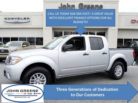 2019 Nissan Frontier for sale at John Greene Chrysler Dodge Jeep Ram in Morganton NC