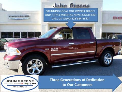 2016 RAM Ram Pickup 1500 for sale at John Greene Chrysler Dodge Jeep Ram in Morganton NC