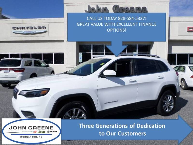 2019 Jeep Cherokee for sale at John Greene Chrysler Dodge Jeep Ram in Morganton NC