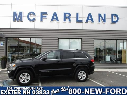 2017 Jeep Grand Cherokee for sale in Exeter, NH