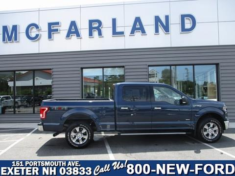 Autoserv Tilton New Hampshire >> Used 2016 Ford F-150 For Sale in New Hampshire ...