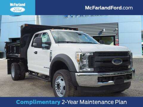2019 Ford F-550 Super Duty for sale at MC FARLAND FORD in Exeter NH