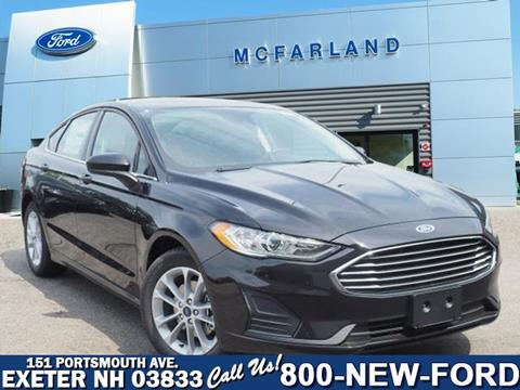 2019 Ford Fusion for sale in Exeter, NH