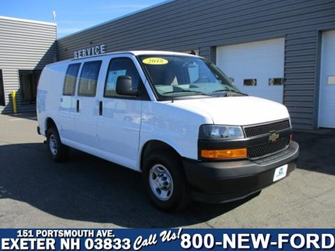2018 Chevrolet Express Cargo for sale in Exeter, NH