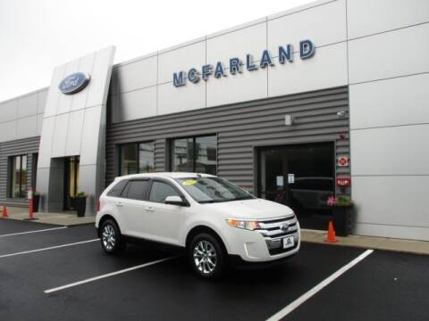 2013 Ford Edge for sale at MC FARLAND FORD in Exeter NH