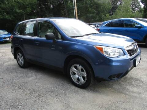 2016 Subaru Forester for sale at MC FARLAND FORD in Exeter NH