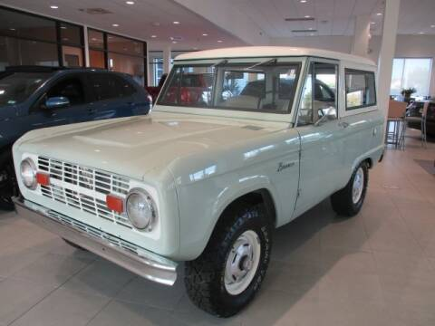 1967 Ford Bronco for sale at MC FARLAND FORD in Exeter NH