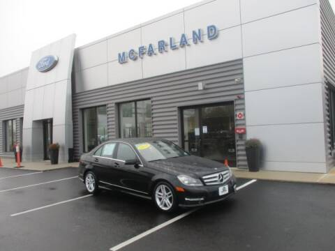 2013 Mercedes-Benz C-Class for sale at MC FARLAND FORD in Exeter NH