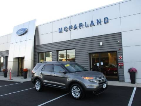 2011 Ford Explorer for sale at MC FARLAND FORD in Exeter NH