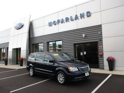 2015 Chrysler Town and Country for sale at MC FARLAND FORD in Exeter NH