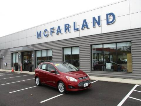 2013 Ford C-MAX Hybrid for sale at MC FARLAND FORD in Exeter NH