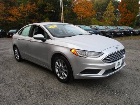 2017 Ford Fusion for sale at MC FARLAND FORD in Exeter NH