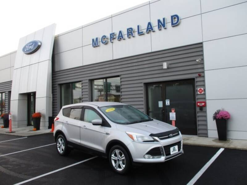 2016 Ford Escape for sale at MC FARLAND FORD in Exeter NH