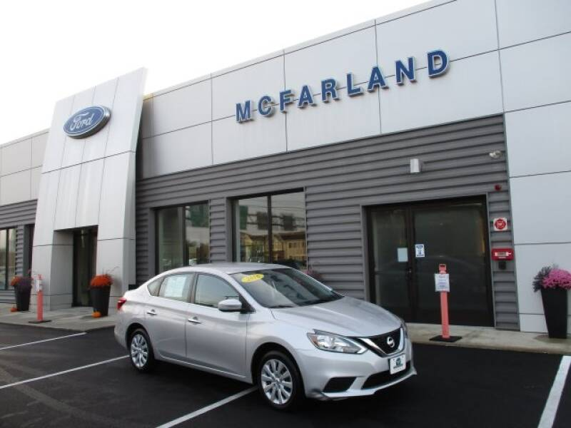 2016 Nissan Sentra for sale at MC FARLAND FORD in Exeter NH