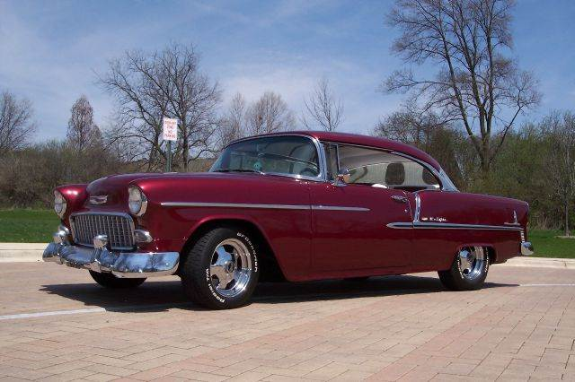 1955 Chevrolet Bel Air for sale at Classic Auto Haus in Geneva IL