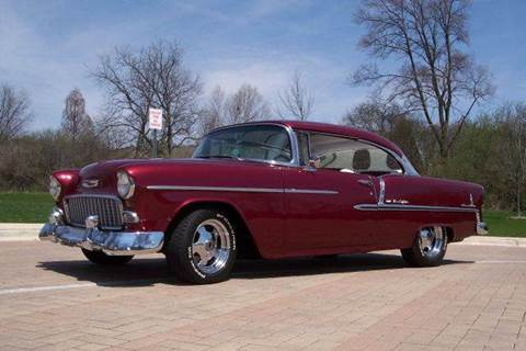 1955 Chevrolet Bel Air for sale at Classic Auto Haus in Geneva IL