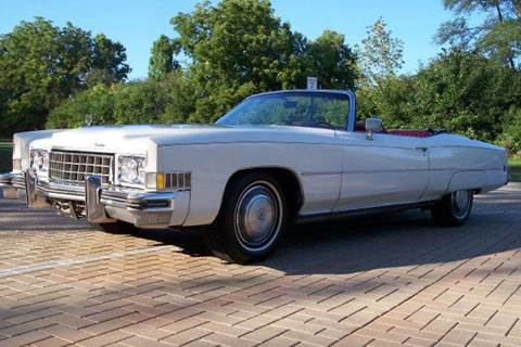 1973 Cadillac Eldorado for sale at Classic Auto Haus in Geneva IL