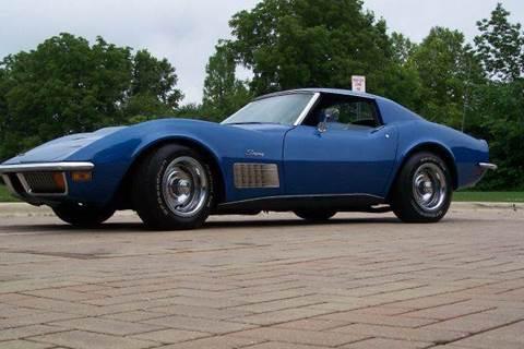 1972 Chevrolet Corvette for sale at Classic Auto Haus in Geneva IL