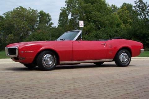 1968 Pontiac Firebird for sale at Classic Auto Haus in Geneva IL