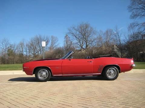 1969 Chevrolet Camaro for sale at Classic Auto Haus in Geneva IL