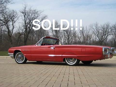 1964 Ford Thunderbird for sale at Classic Auto Haus in Geneva IL