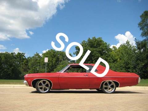 1970 Chevrolet Impala for sale at Classic Auto Haus in Geneva IL